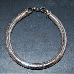 slange armbånd i sølv 925s kraftigt maskulint